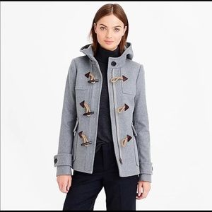 J.Crew Melton Wool Toggle coat